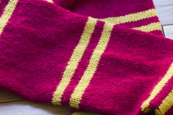 Harry Potter Knit Scarf