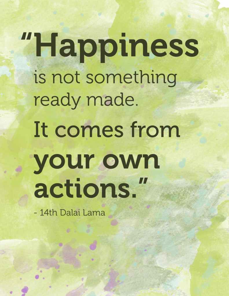 happiness quote - Dalai Lama
