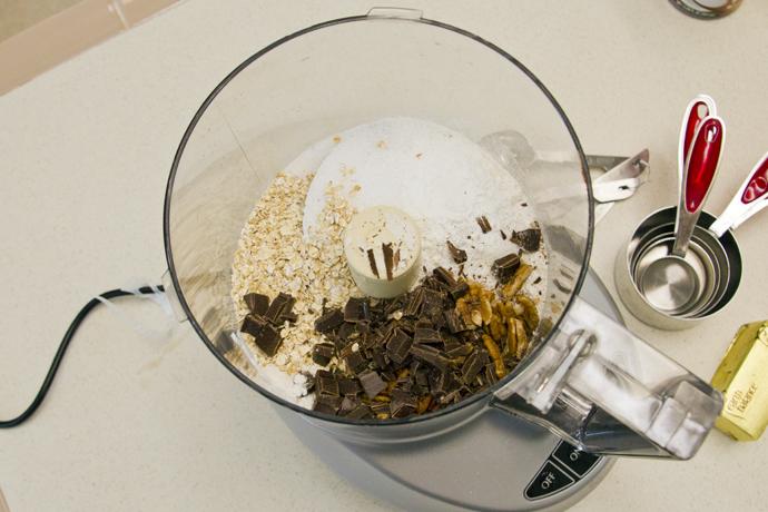 Gluten Free Pecan Chocolate Oat Scones – sugar free & vegan