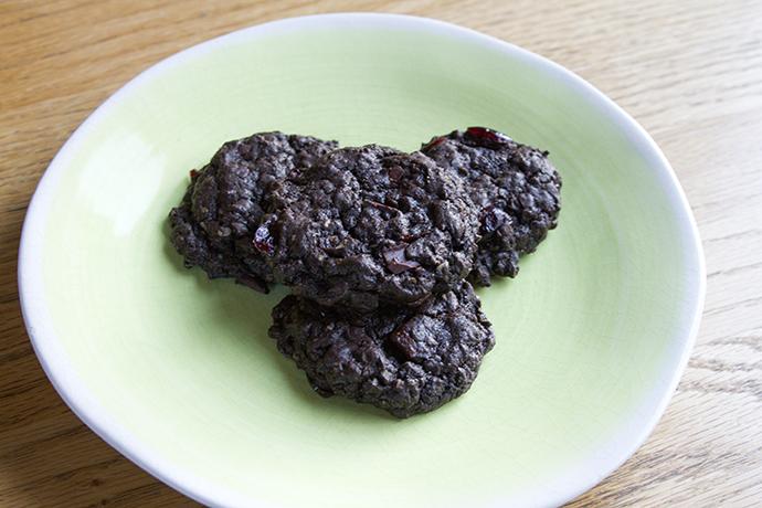 Chocolate Oatmeal Cookies - vegan