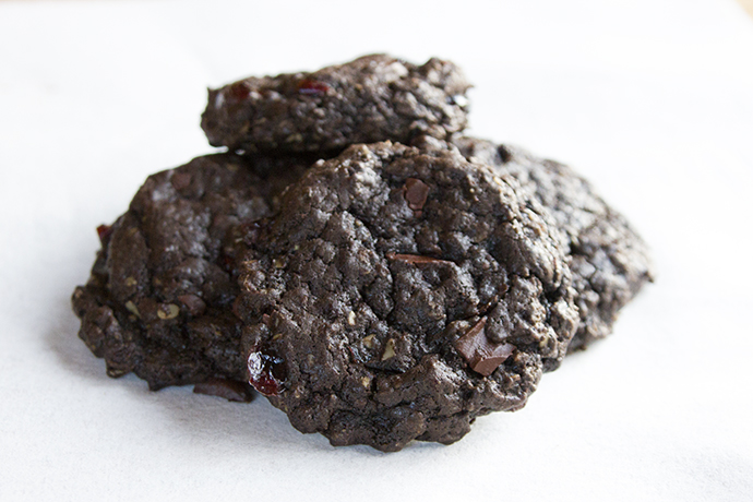 Chocolate Oatmeal Cookies - vegan